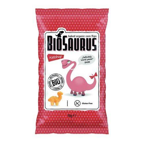 Chrupki kukurydziane o smaku ketchupowym BEZGL. BIO 50 g, 4304