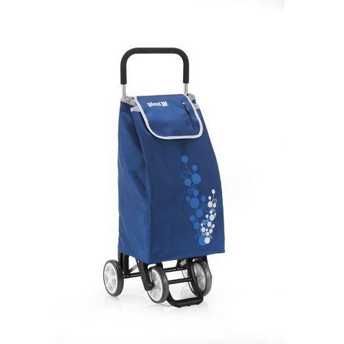 Altom Wózek na zakupy 30kg/56l. twin niebieski 4 kółka (40800781)
