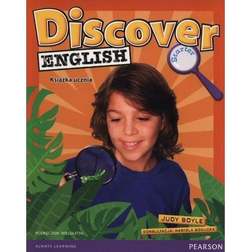 Discover English Starter. Podręcznik Wieloletni + MP3, Pearson