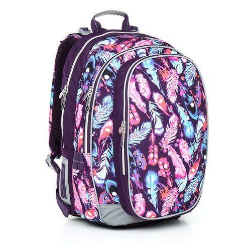 Plecak szkolny chi 796 h - pink marki Topgal