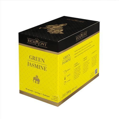 Herbata zielona o smaku jaśminu, 50 saszetek | RICHMONT, Green Jasmine