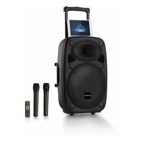 """Auna Pro Streetstar 12 Przenośna kolumna nagłośnieniowa 12"""" subwoofer trolley BT USB"""