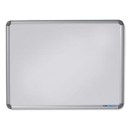 Office akktiv Tablica ścienna design, lakierowanie na kolor biały, szer. x wys. 1200x900 mm. w
