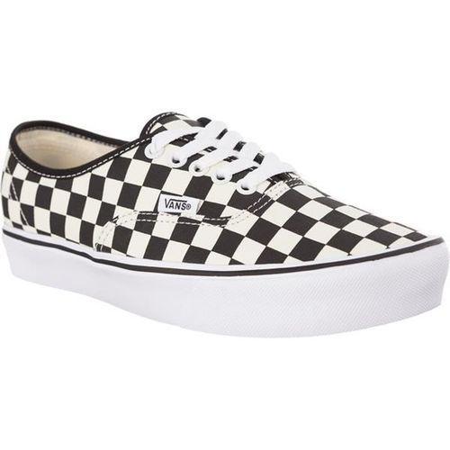 Vans AUTHENTIC LITE 5GX CHECKERBOARD BLACK WHITE - Buty Sneakersy