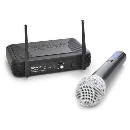 Bezprzewodowy mikrofon uhf stwm721 1 kanał 1 mikrofon marki Skytec