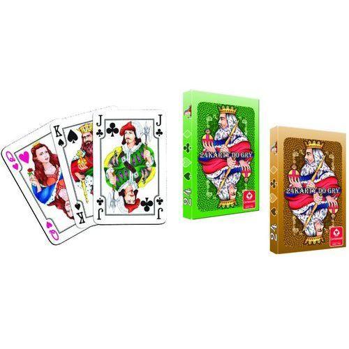 Karty casino 24 l. - darmowa dostawa od 199 zł!!! marki Cartamundi
