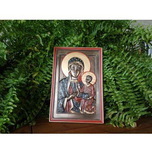 Obraz - ikona matka boska częstochowska - (wu76612a4) marki Veronese