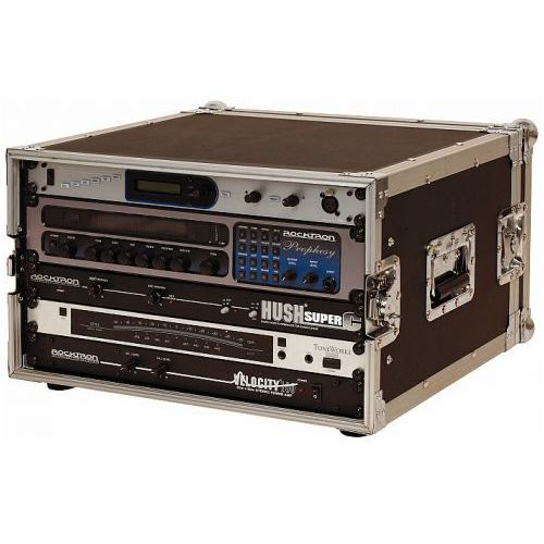Rockcase RC 24106 B futerał Flight Case 19′′ do urządzeń typu rack, max gł. 35 cm, max wys. 27 cm