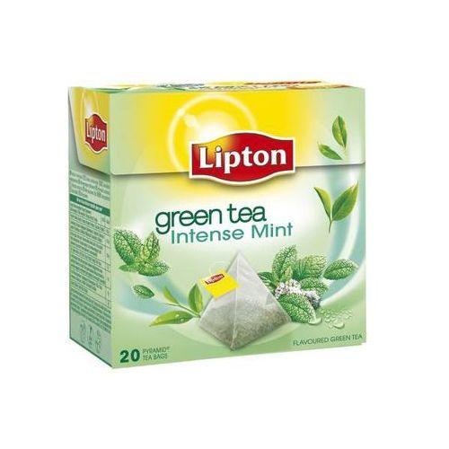 Herbata zielona LIPTON zielona z miętą 20 szt. - X03968