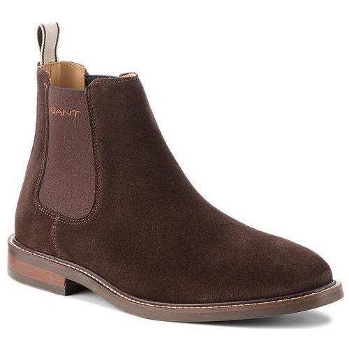 Sztyblety GANT - Ricardo 16653494 Coffee Brown G462