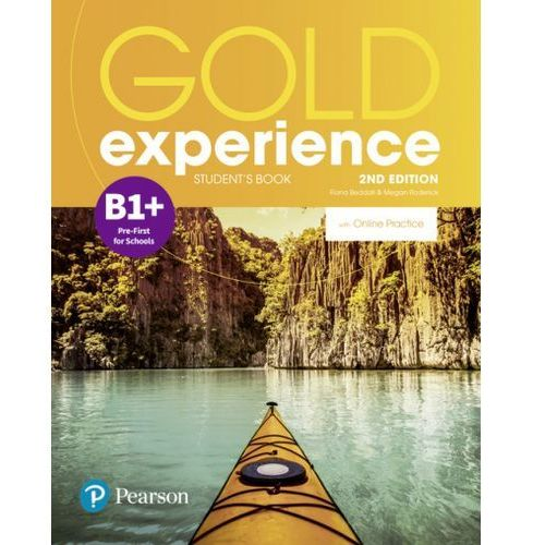 Gold Experience 2nd Edition B1+. Podręcznik + Online Practice (9781292237268)