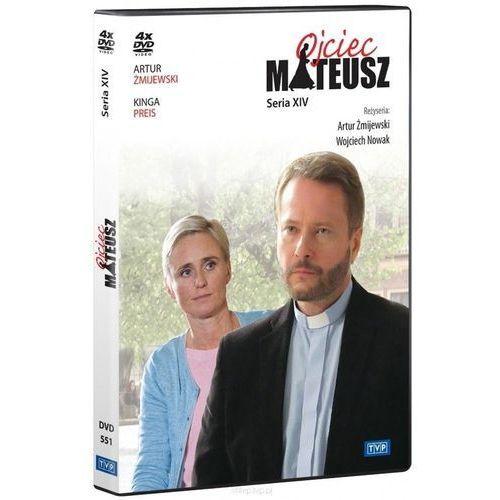 Ojciec Mateusz. Seria 14 (4 DVD) (Płyta DVD) (5902739660256)