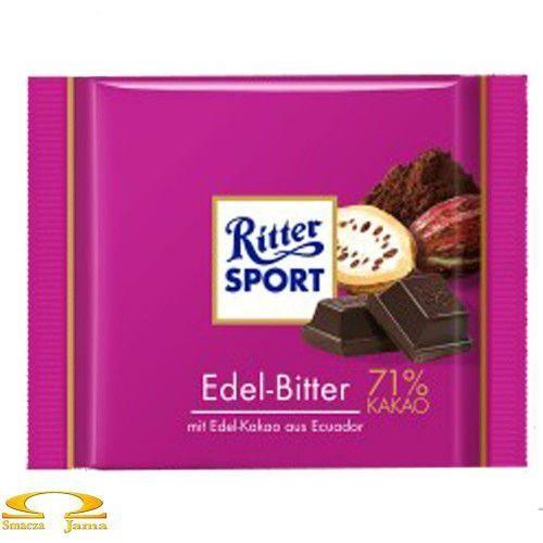 Czekolada edel-bitter gorzka 71%kakao marki Ritter sport