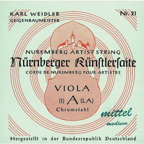 Nurnberger (635613) struny do altówki Kunstler Rope Core - Set (25)