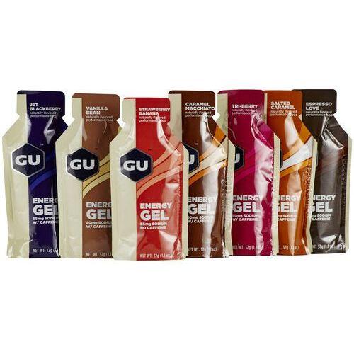 GU Energy Gel Test Package 7x32g, Different Flavours 2019 Zestawy i multipaki