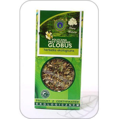 Herbata Globus przy migrenie 50g BIO DARY NATURY