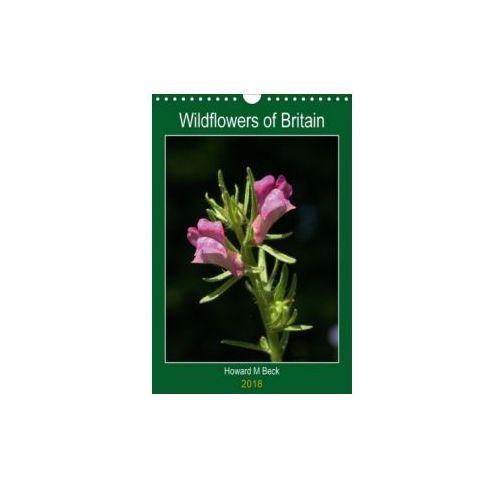Wildflowers of Britain (Wall Calendar 2018 DIN A4 Portrait)