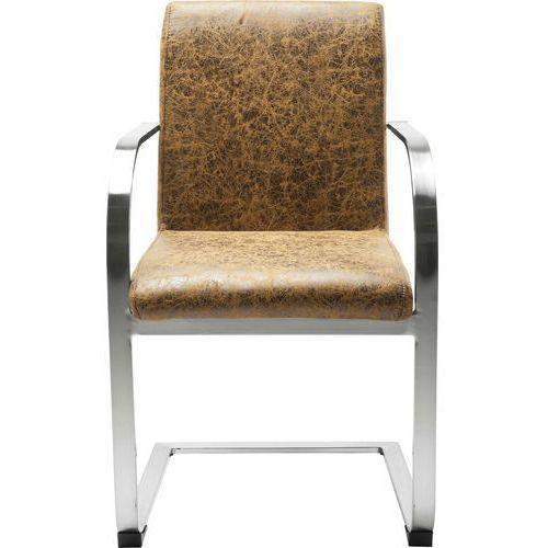 Cantilever Candodo Vintage Dark Brown Fotel - 78931, marki Kare Design do zakupu w sfmeble.pl