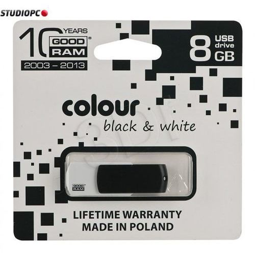 flashdrive 8192mb usb 2.0 black&white od producenta Goodram