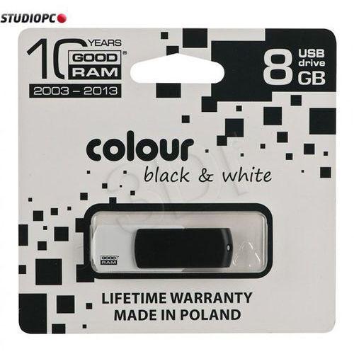 GOODRAM FLASHDRIVE 8192MB USB 2.0 BLACK&WHITE, kup u jednego z partnerów