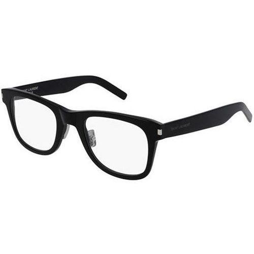 Okulary korekcyjne sl 50 slim 001 marki Saint laurent