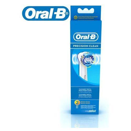 Oral-B Końcówki do szczoteczki elektrycznej Precision Clean 2szt (EB20 2) (4210201746324)
