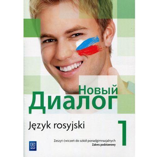 Język rosyjski Nowyj Dialog 1 ćw LO / zakres podstawowy - Mirosław Zybert, WSiP