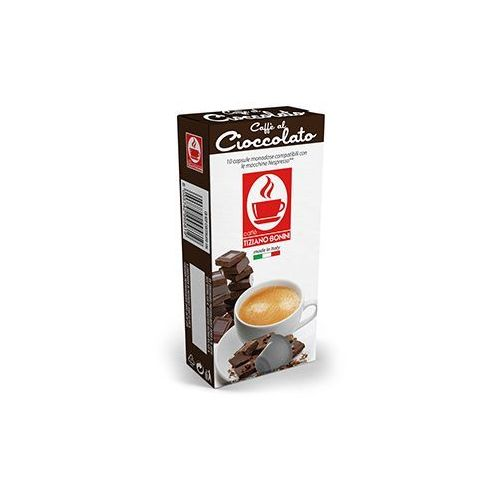 Caffe bonini Kapsułki do nespresso* czekolada/cioccolato 10 kapsułek - do 12% rabatu przy większych zakupach oraz darmowa dostawa (8055742995819)