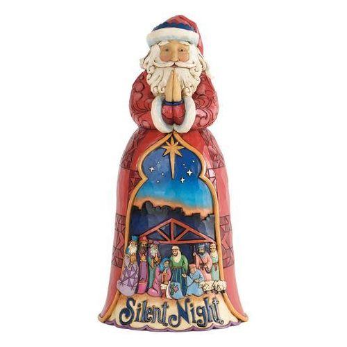 Jim shore Mikołaj szopka cicha noc, (silent night), 4034356 figurka ozdoba świąteczna