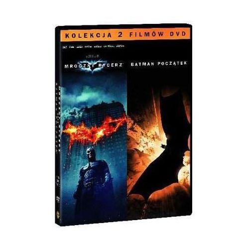 Batman początek / Mroczny Rycerz (4 DVD, Pakiet kolekcjonerski) (Płyta DVD)