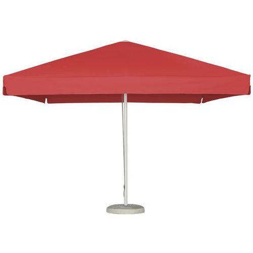 Parasol ogrodowy Bali 3x3m Czerwony z podstawą, LITEX Promo Sp. z o.o. z Litex Garden
