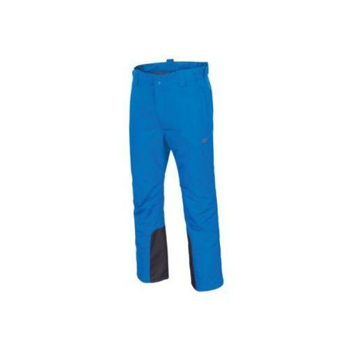 Spodnie męskie narciarskie spmn001 - denim marki 4f