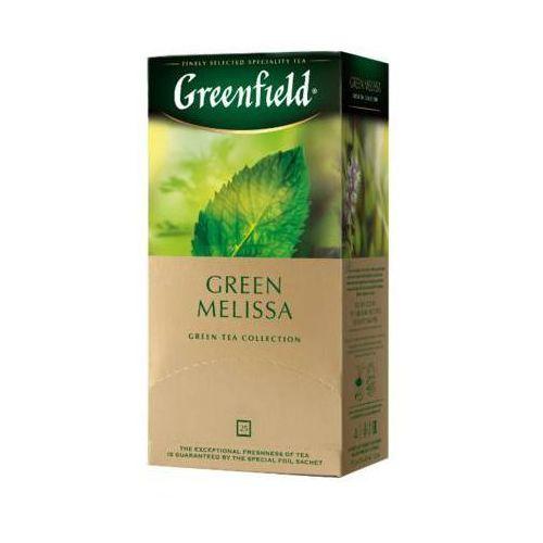 25x1,5g green melisa herbata zielona ekspresowa marki Greenfield