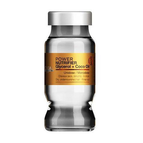 Loreal nutrifier power monodose   kuracja nawilżająca do włosów suchych 10ml