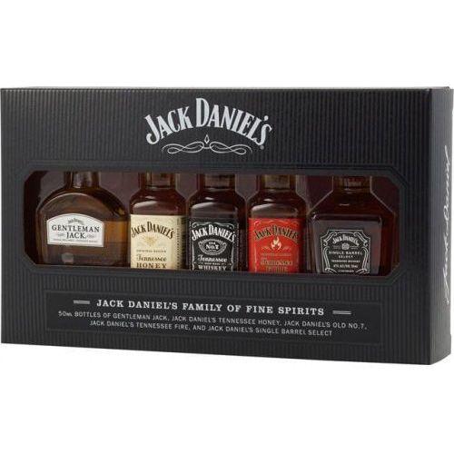 Zestaw Jack Daniel's Family of Fine Spirits 5x0,05l