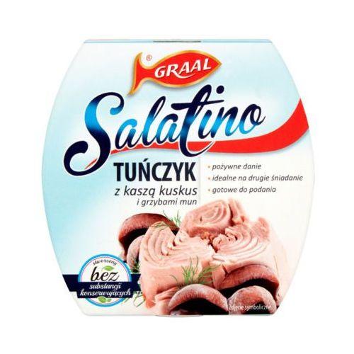 Graal 160g salatino tuńczyk z kaszą kuskus i grzybami mun