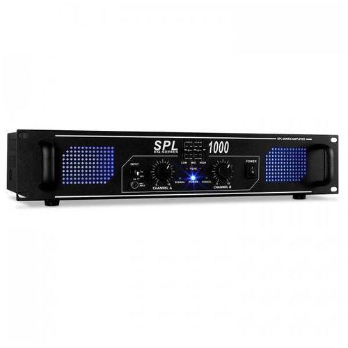 Skytec Spl1000 audio led wzmacniacz dj pa 2800w equalizer