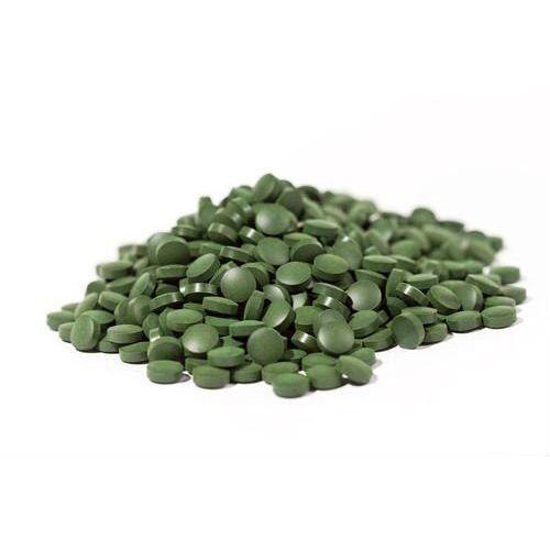 Organiczna Chlorella w tabletkach 500mg x 500 tabl RAW 250g
