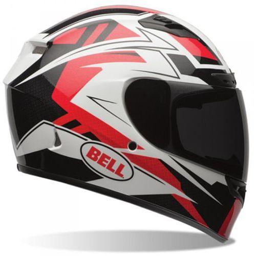 Bell qualifier dlx clutch red kask integralny
