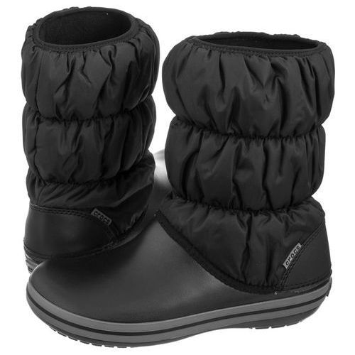 Śniegowce Crocs Winter Puff Boot W Black/Charcoal 14614-070 (CR135-a)