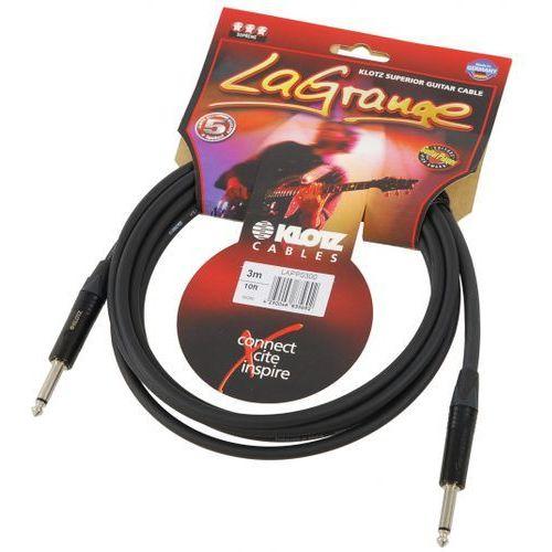 lapp0300 lagrange kabel gitarowy 3m, jack-jack, wtyki neutrik marki Klotz