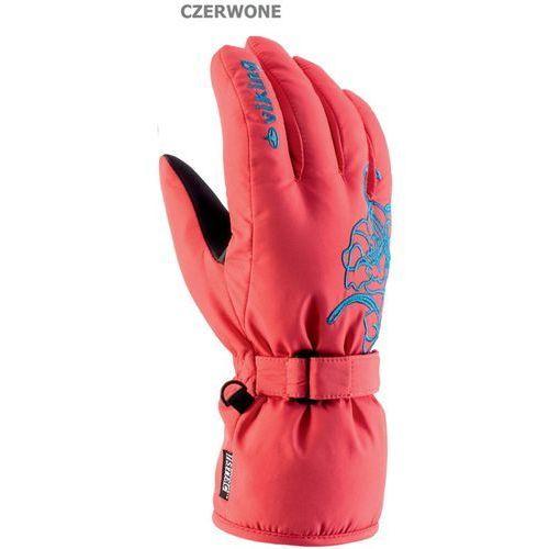 Viking Damskie rękawice narciarskie mallow czerwo 5