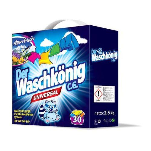 Waschkonig 2 x Uniwersalny proszek do prania 2,5kg (proszek do prania ubrań)