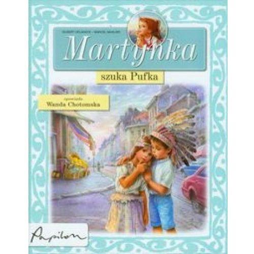 Książka w oprawie twardej Martynka szuka Pufka
