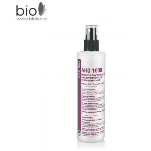 Ahd 1000 - alkoholowy płyn do dezynfekcji rąk i skóry oraz małych powierzchni wyrobów medycznych – 250 ml marki Medilab