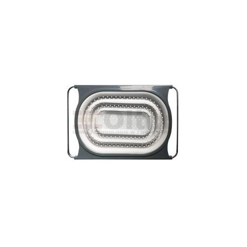 Kuchinox Durszlak sitko ociekacz silikonowy składany z regulowanym rozstawem EKO 550M, EKO 550M