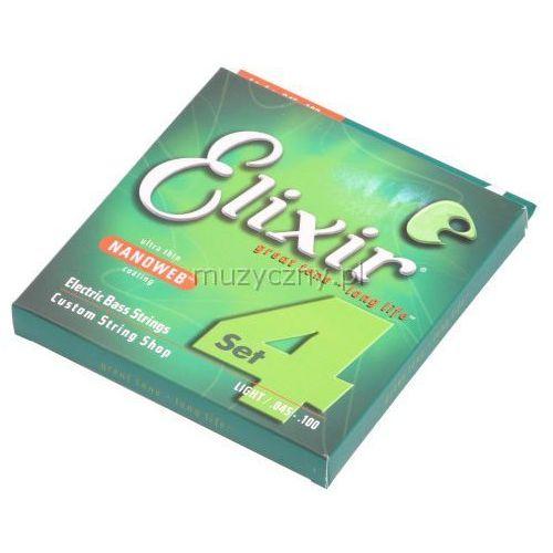 Elixir 14052 NW L4S struny do gitary basowej 45-100