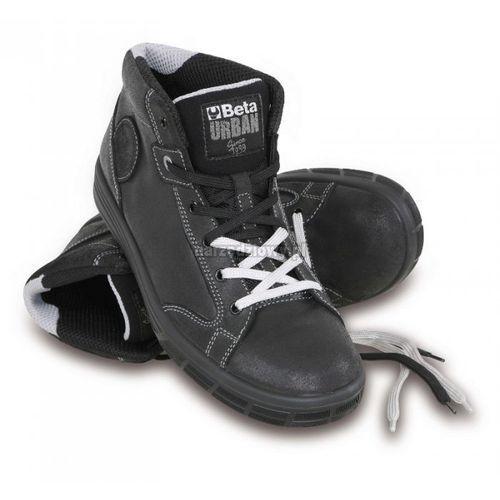 BETA Trzewiki bezpieczne skórzane URBAN 7368NKK, Rozmiar EU: 38, Rozmiar UK: 5 (obuwie robocze)