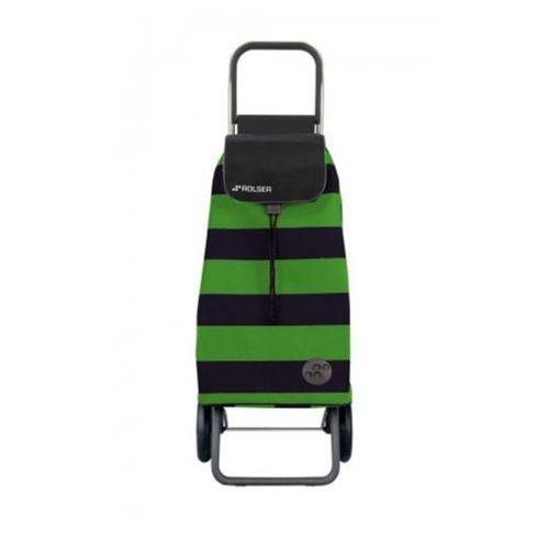 Wózek na zakupy Rolser LOGIC RG Pack Lido Verde/Negro NOWOŚĆ! (wózek na zakupy)