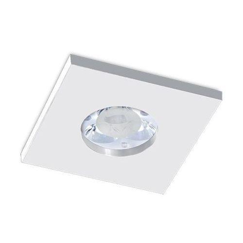 Oczko kwadratowe su classic aluminium szczotkowane led ip65, 3006led1 marki Bpm lighting